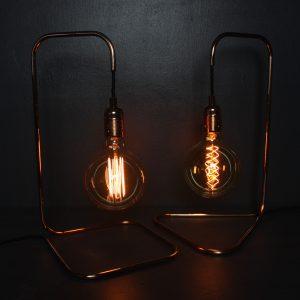 Large Square Lamp