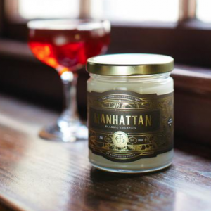 Manhattan Cocktail Candle