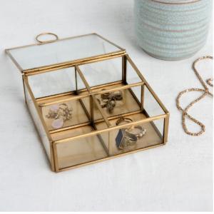 Brass Jewellery Box