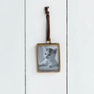 Brass Hanging Frame