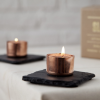 Square Copper Candle Holder