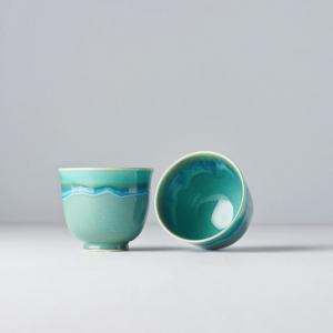Aqua Teacup