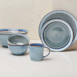 Dakara Grey & Blue Bowl