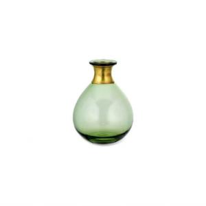 Miza Mini Glass Vase – Green