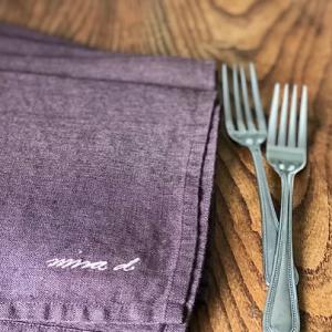 Mauve 100% Linen Napkin