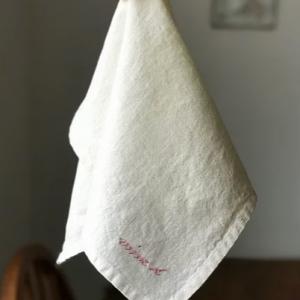 White 100% Linen Napkin