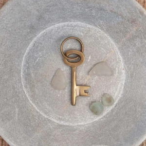 Bansi Brass Keyring