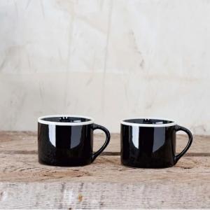 Datia Small Mug – Black