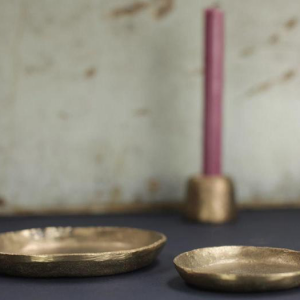 Jahi Gold Plate Large
