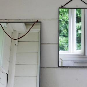 Kiko Large Antique Zinc Mirror
