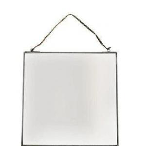 Kiko Small Antique Zinc Mirror