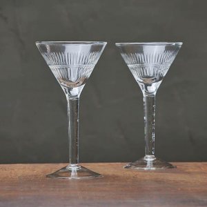 Mila Cocktail Glass – Clear