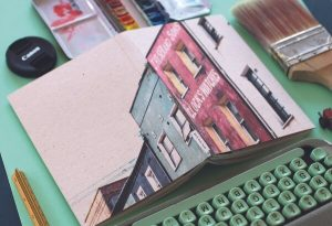 Father's Day Gift Recycled Notebook